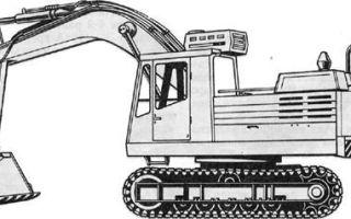 Экскаватор эо 4321