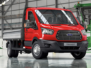 Форд Транзит бортовой: технические характеристики
