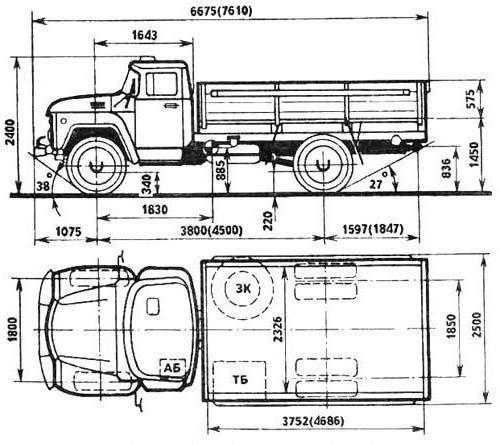 Технические характеристики ЗИЛ 431410