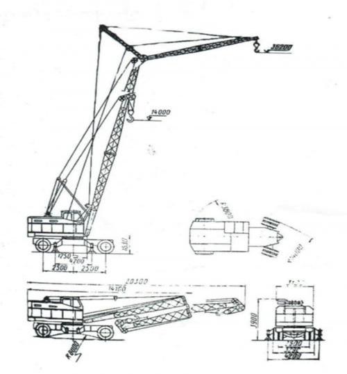 Технические характеристики крана КС 5363