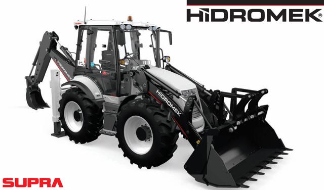 Экскаватор-погрузчик Hidromek 102s