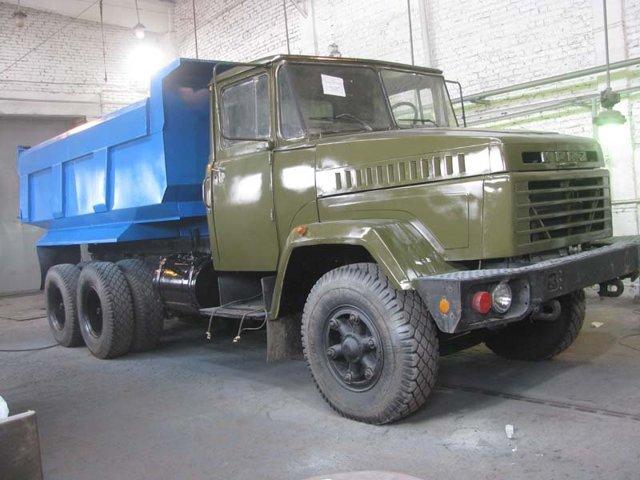 Технические характеристики КРАЗ-6510
