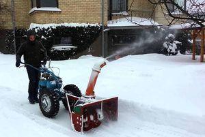 Самодельный снегоуборщик для мотоблока своими руками
