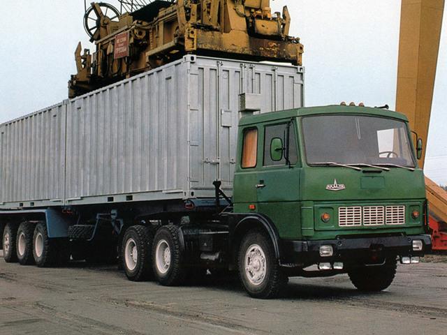 Фото МАЗ-6422, характеристики, размеры