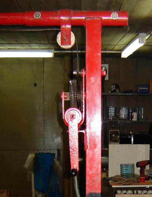Устройство кран-балки для гаража