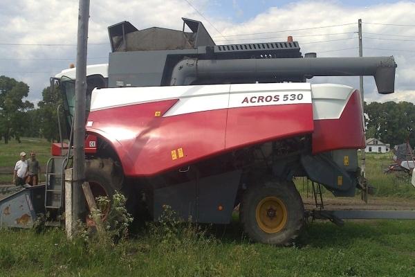 Зерноуборочный комбайн Акрос