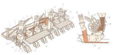 Технические характеристики сеялки СУПН-8