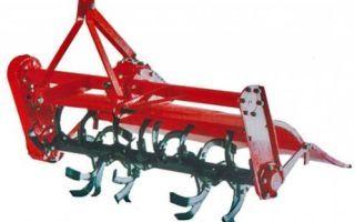 Навесное оборудование для минитраткора