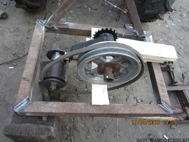Сегментная косилка для трактора