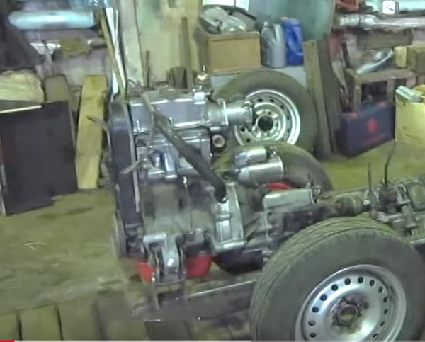 Самодельные трактора с двигателем от ВАЗ