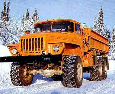 Технические характеристики Урал 5557