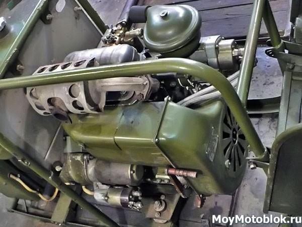 Технические характеристики двигателя УД-2