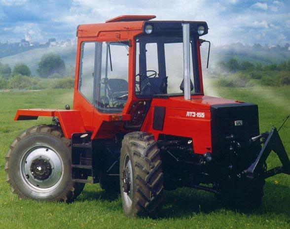 Технические характеристики ЛТЗ-155