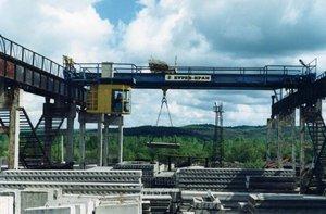 Технические характеристики мостовых кранов