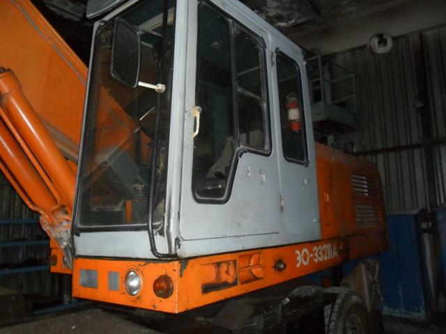 Технические характеристики экскаватора ЭО-33211