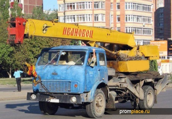 Автокран МАЗ-5334 и другие модификации