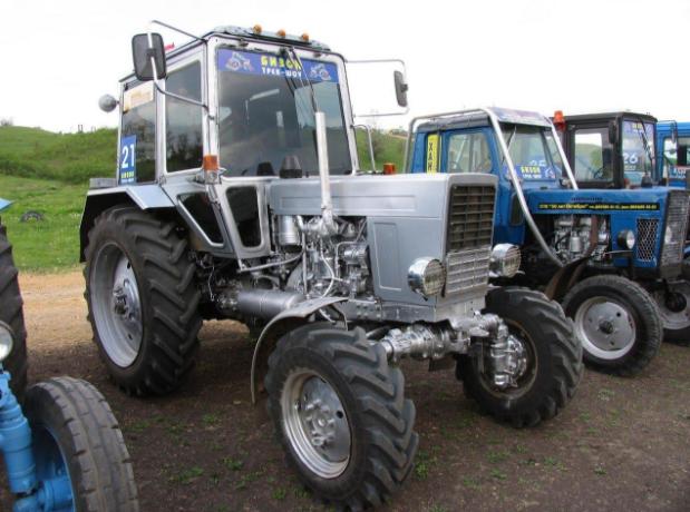 Навесное оборудование для трактора мтз 82