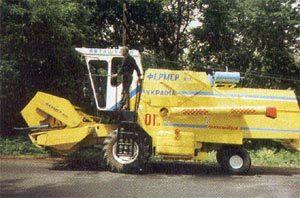 Зерноуборочный мини-комбайн