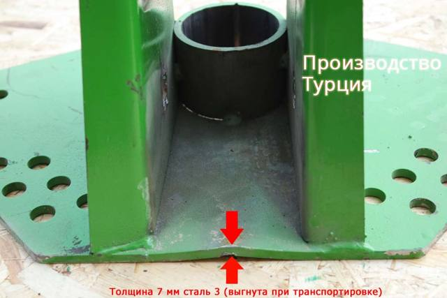 Технические характеристики ГВК-6