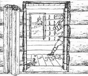 Обратная лопата экскаватора
