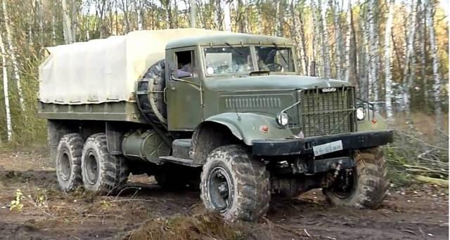 КРАЗ 255 «Лаптежник»