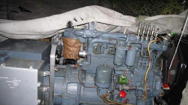 Технические характеристики двигателя СМД-14