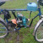 Мотоблок из бензопилы