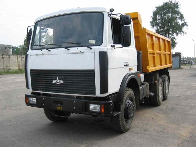 Технические характеристики МАЗ-5516
