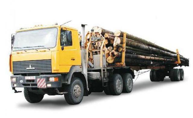 Лесовоз МАЗ-509: характеристики, отзывы