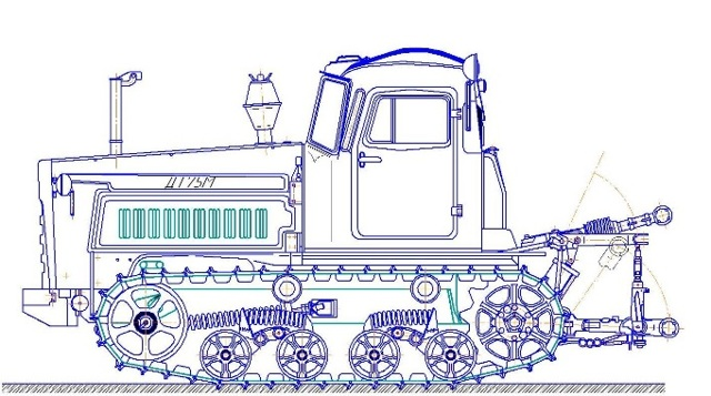 Ремонт коробки передач ДТ 75