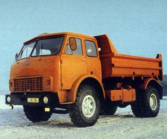 Технические характеристики МАЗ-5549