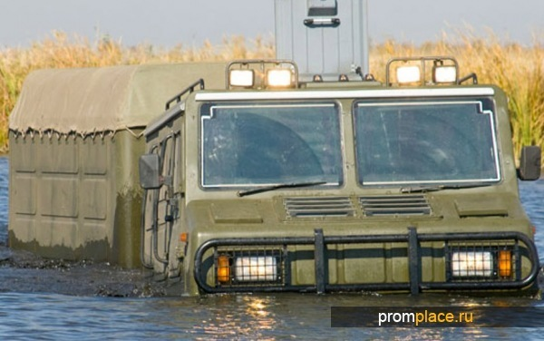 Технические характеристики болотохода Витязь ДТ-30