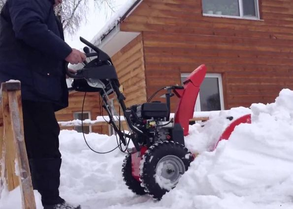 Принцип работы снегоочистительной машины