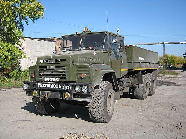 Лесовоз КРАЗ 260