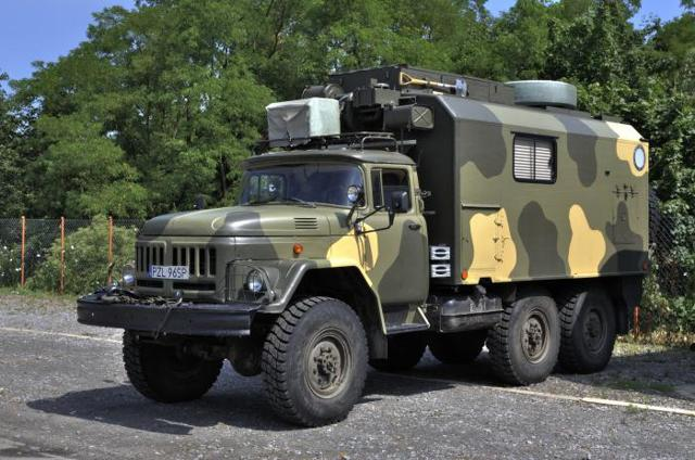 Военный ЗИЛ 131