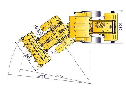 Фронтальный погрузчик xcmg lw300f