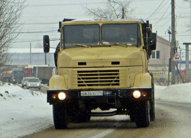 Технические характеристики КрАЗ 65055