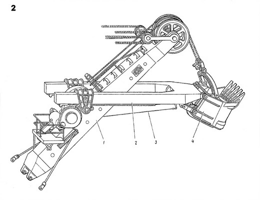 Технические характеристики экскаватора ЭКГ 5а