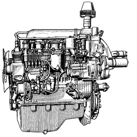 Технические характеристики двигателя Д-242