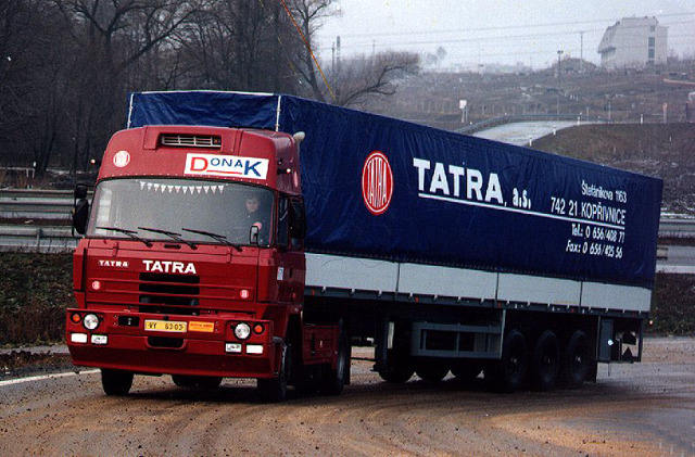 Самосвал Татра-815: объем кузова и другие характеристики