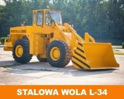 Польский погрузчик L 34 Stalowa wola (Сталева Воля)