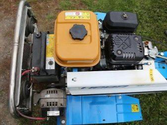 Как на мотоблок поставить генератор