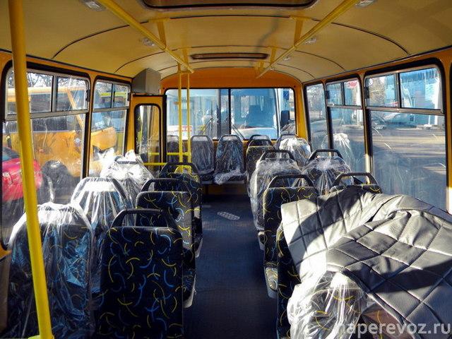 Автобус ПАЗ-4234: технические характеристики