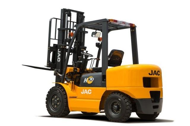 Вилочные погрузчики JAC, дизельные, электрические, газ-бензин