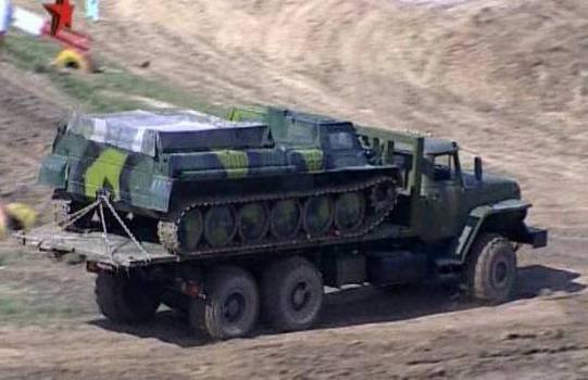 Гусеничный вездеход ГАЗ 71: эксплуатация, характеристики
