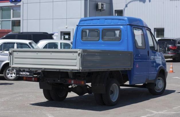 Полноприводный 4х4 ГАЗ-330273: Газель Фермер