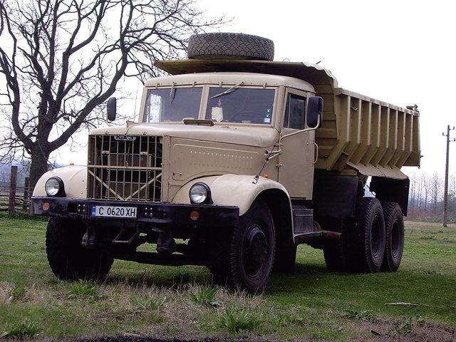 Самосвал КРАЗ 256