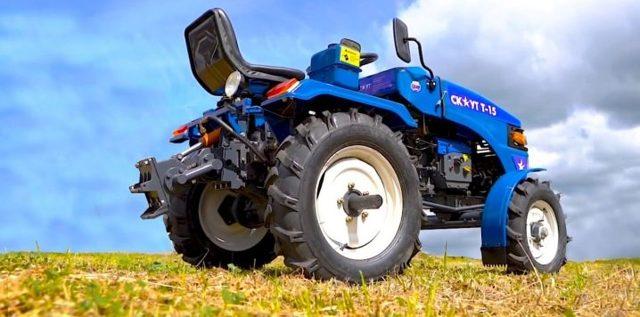 Трактор Скаут Т-15: масса и другие характеристики